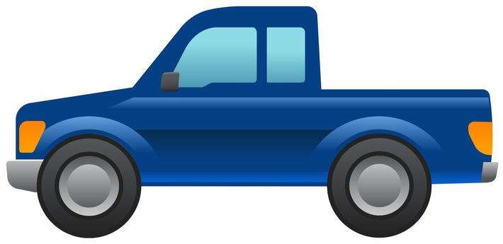 Ford entwickelt Pick up-Emoji