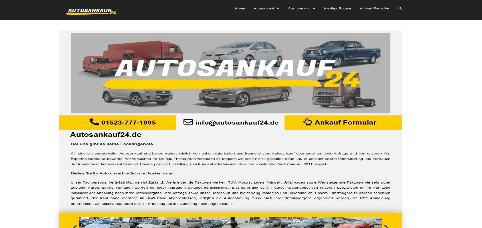 autosankauf24.de Autoankauf Göppingen