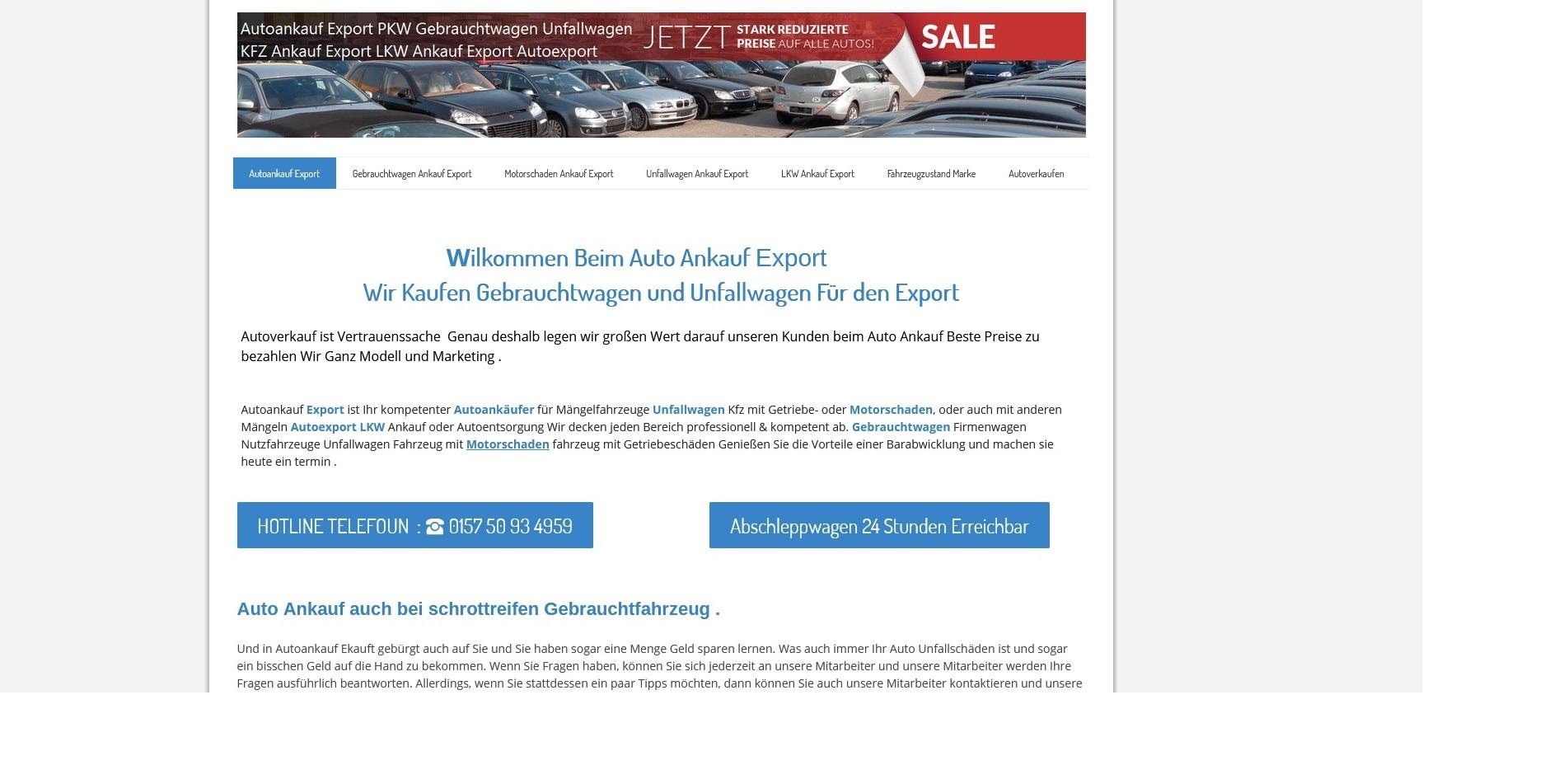 Kfz-Ankauf-export.de | Autoankauf Chemnitz | Autoankauf Export Chemnitz